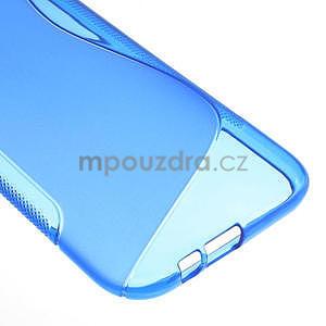 Gelové S-line pouzdro pro HTC one M8- modré - 6