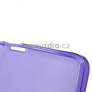 Gelové matné pouzdro pro HTC one Max- fialové - 6