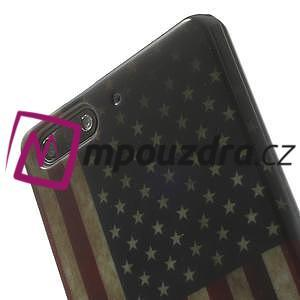 Gelové pouzdro na Huawei Ascend G6 - USA vlajka - 6