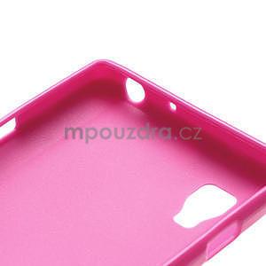 Gelové PUNTÍK pouzdro pro LG Optimus L9 P760- růžové - 6