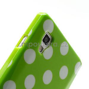 Gelové PUNTÍK pouzdro pro LG Optimus L9 P760- zelené - 6