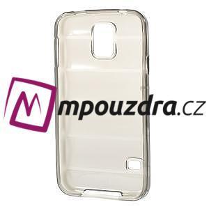 Gelové vesta pouzdro na Samsung Galaxy S5- šedé - 6