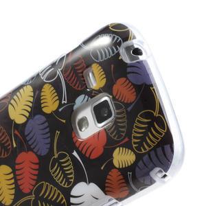 Gelové pouzdro na Samsung Galaxy Trend, Duos- lístky - 6