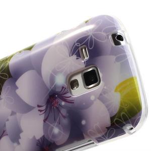 Gelové pouzdro na Samsung Galaxy Trend, Duos- elegantní květ - 6