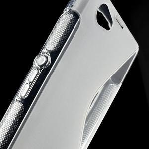 Gelové S-line pouzdro na Sony Xperia Z1 Compact D5503- transparentní - 6