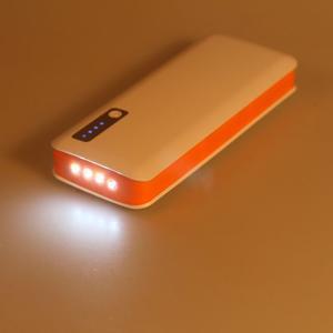 Vysokokapacitní externí nabíječka PowerBank GT 11 800 mAh - oranžová - 6