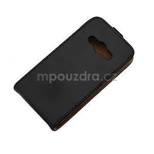 Flipové pouzdro na Samsung Galaxy Xcover 3 - černé - 6