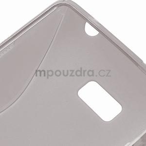 Gelové S-line pouzdro pro HTC Desire 600- šedé - 6
