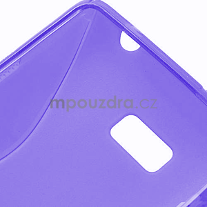 Gelové S-line pouzdro pro HTC Desire 600- fialové - 6
