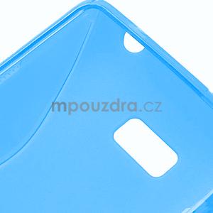 Gelové S-line pouzdro pro HTC Desire 600- modré - 6