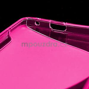 Gelové S-line pouzdro pro HTC one M7- růžové - 6