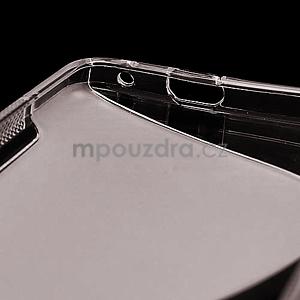 Gelové S-line pouzdro pro HTC one M7- šedé - 6