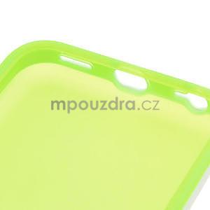 Gelové rámové pouzdro pro iPhone 5C- zelené - 6
