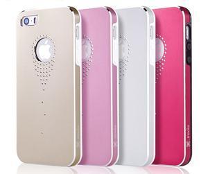 Hliníkové pouzdro na iPhone 5, 5s- stříbrné - 6