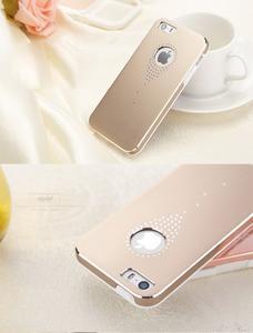 Hliníkové pouzdro na iPhone 5, 5s- zlaté - 6