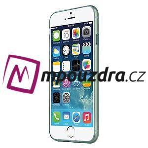Ultra slim 0.7 mm gelové pouzdro na iPhone 6, 4.7  - modré - 6