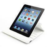 Krystalové 360° pouzdro pro iPad 2, 3, 4- bílé - 6/7