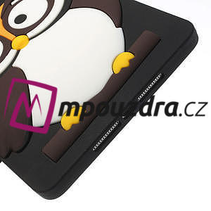 Silikonové pouzdro na iPad mini 2 - hnědá sova - 6
