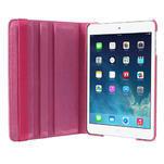PU kožené 360 °  pouzdro pro iPad mini- růžové - 6/7