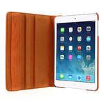 PU kožené 360 °  pouzdro pro iPad mini- oranžové - 6/7