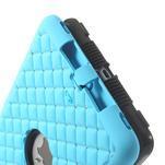 Hybridní kamínkové pouzdro pro iPad mini- světlemodré - 6/6