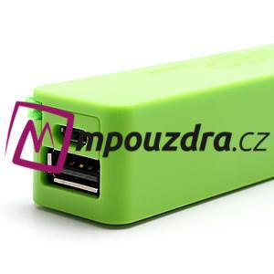 2600mAh externí baterie Power Bank - zelená - 6