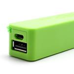2600mAh externí baterie Power Bank - zelená - 6/6