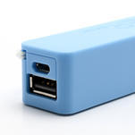 2600mAh externí baterie Power Bank - modrá - 6/6