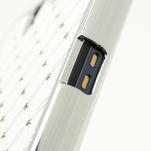 Drahokamové pouzdro na Sony Xperia Z L36i C6603- bílé - 6/7