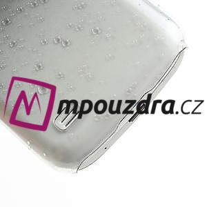 Plastové minerální pouzdro pro Samsung Galaxy S4 mini i9190- černé - 6