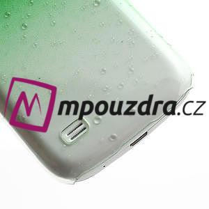 Plastové minerální pouzdro pro Samsung Galaxy S4 mini i9190- zelené - 6
