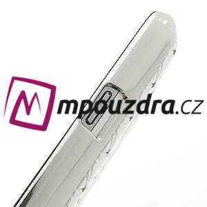 Drahokamové pouzdro pro Samsung Galaxy S4 mini i9190- bílé - 6