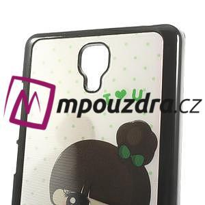 Hard Case 3D pouzdro na Xiaomi Mi3- dívka - 6