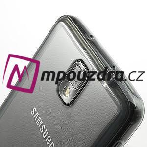 Gelové hybrid pouzdro na Samsung Galaxy Note 3- šedé - 6
