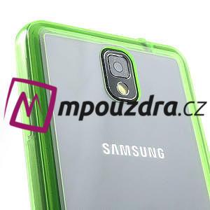 Gelové hybrid pouzdro na Samsung Galaxy Note 3- zelené - 6
