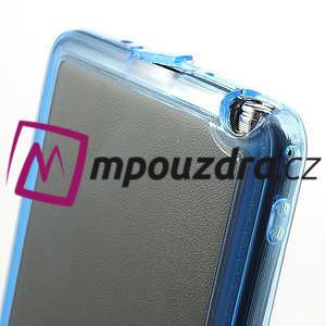 Gelové hybrid pouzdro na Samsung Galaxy Note 3- modré - 6