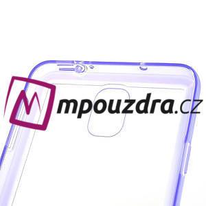 Gelové hybrid pouzdro na Samsung Galaxy Note 3- fialové - 6