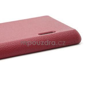Texturované pouzdro pro LG Optimus L7 P700- červené - 6