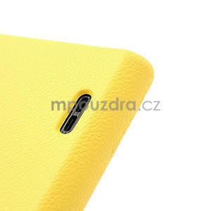 Texturované pouzdro pro LG Optimus L7 P700- žluté - 6