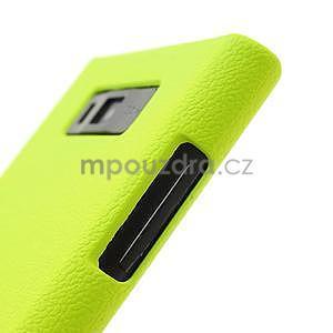 Texturované pouzdro pro LG Optimus L7 P700- zelené - 6