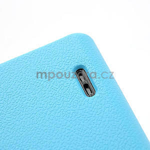 Texturované pouzdro pro LG Optimus L7 P700- modré - 6
