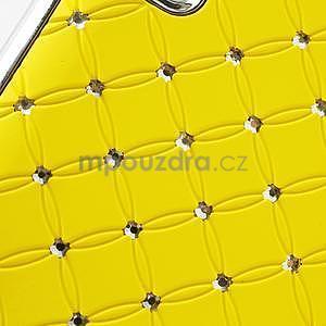 Drahokamové pouzdro pro LG Optimus L9 P760- žluté - 6