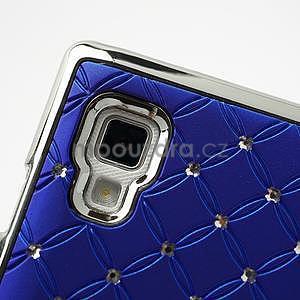 Drahokamové pouzdro pro LG Optimus L9 P760- modré - 6