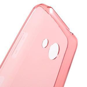 Ultratenký gelový obal na mobil Microsoft Lumia 550 - červený - 6