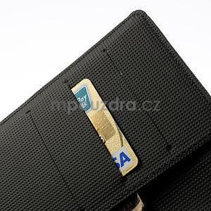 Peněženkové pouzdro pro Nokia Lumia 1320- černé - 6