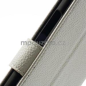 Peněženkové pouzdro pro Nokia Lumia 1320- bílé - 6