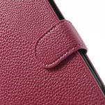 Peněženkové pouzdro pro Nokia Lumia 1320- růžové - 6/7