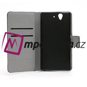 Peněženkové pouzdro na Sony Xperia Z C6603 - motýlci - 6