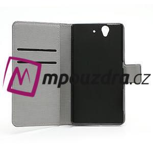 Peněženkové pouzdro na Sony Xperia Z C6603 - barevné vzory - 6