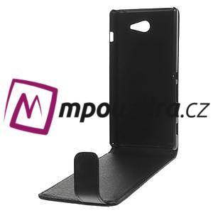 Flipové pouzdro na Sony Xperia M2 D2302 - černé - 6